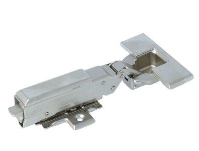 keukenscharnier opliggend met soft-close demping 52 mm