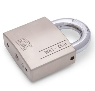 Hangslot DX PRO-line HSPRO 70 O SE Zilver SKG**®