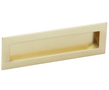 Schuifdeurkom 160 x 50 mm mat goud