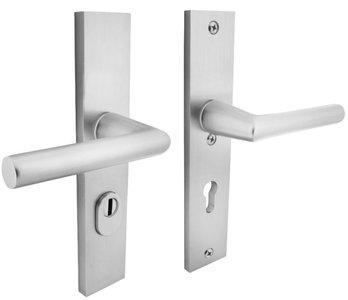 Veiligheidsbeslag Rechthoekig met kerntrek beveiliging kruk/kruk SKG*** PC55 Aluminium F1
