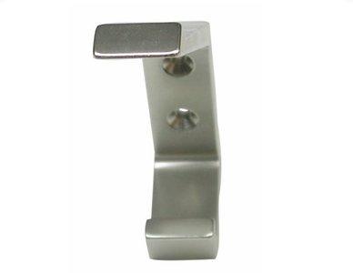 Kapstokhaak Aluminium enkel