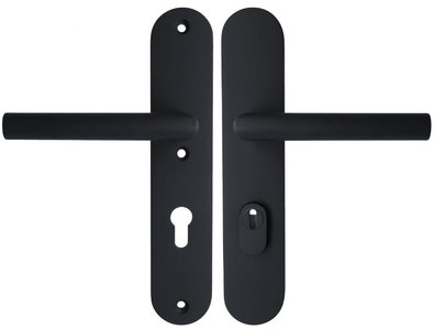 Veiligheidsbeslag met kerntrek beveiliging LBSM-50KT/LBII-19 kruk/kruk SKG*** Zwart PC72
