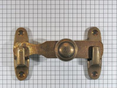 Deursluiting, brons antiek