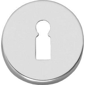Sleutelplaatje rond verdekt aluminium