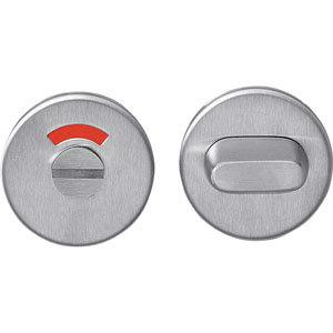 WC-sluiting 5mm rond plat verdekt rvs