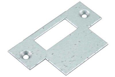 Nemef sluitplaat P1255/12 Verzinkt