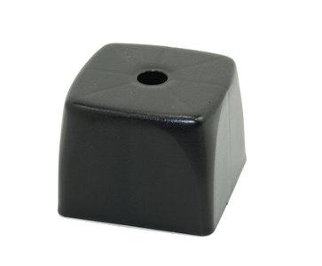 Meubelpoot kunststof vierkant
