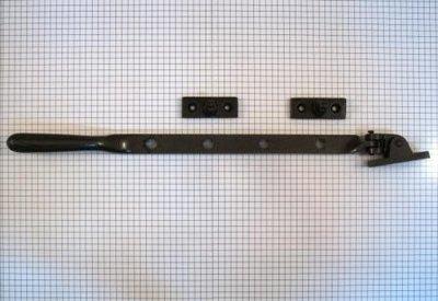 Raamuitzetter 32 cm, ijzer geroest