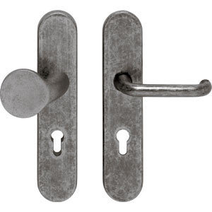 SKG3 Veiligheid-garnituur greep/kruk PC92 oud grijs