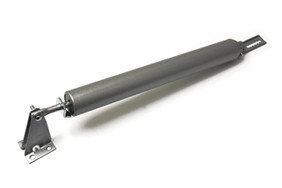 Pneumatische deurveer zilvergrijs