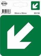 Sticker richtingspijl links/rechts