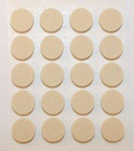 Zelfklevend Vilt Wit Ω 28 mm