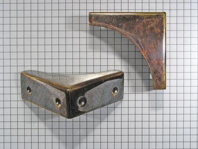 Kisthoek Messing Antiek 50 x 19 mm