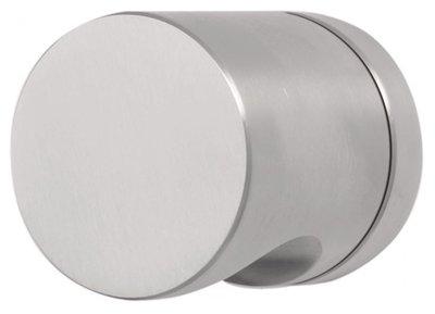 Knopkruk BASIC LB52PD op ronde rozet PVD Mat RVS