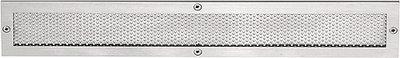 Ventilatierooster SQUARE LSQP300 Mat RVS