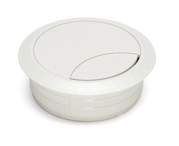 Kabeldoorvoer Rond Wit 60 mm