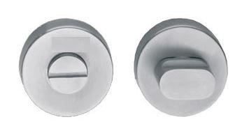 WC-sluiting 8 mm rond blind Ø53X8MM met 7 mm nokken rvs