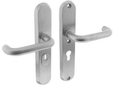 Veiligheidsbeslag met kerntrek beveiliging Geveerd kruk/kruk SKG*** RVS PC55