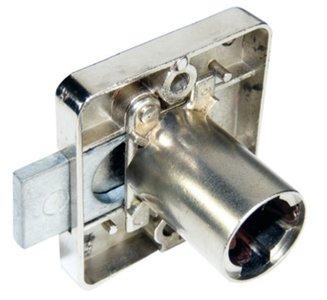 Opzet Cilinderslot voor Kasten Links 20 mm