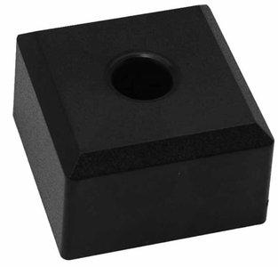 Meubelpoot kunststof vierkant 50x50x30 mm