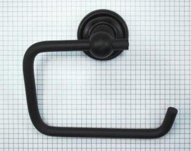 Toiletrolhouder 145 mm ijzer zwart