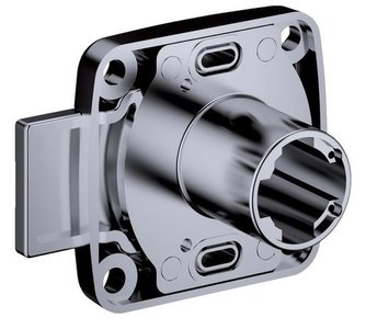 Opschroefslot Doornmaat 25 mm Deurdikte: 19 mm