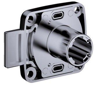 Opschroefslot Doornmaat 25 mm Deurdikte: 25 mm