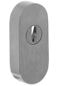 SKG** Veiligheid-Schuifrozet + kerntrekbeveiliging Ovaal RVS