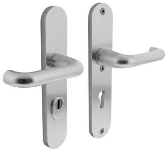 Veiligheidsbeslag met kerntrek beveiliging kruk/kruk SKG*** PC72 Aluminium F1