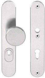 Veiligheidsbeslag met kerntrek beveiliging BASICS LB60-50KT knop/kruk SKG*** RVS PC92
