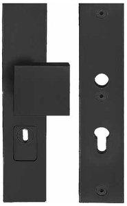 Veiligheidsbeslag met kerntrek beveiliging SQUARE LSQ60-50KT knop/kruk SKG*** Zwart PC92