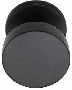 Voordeurknop BASIC LB503V Vast op Rozet PVD Gunmetal