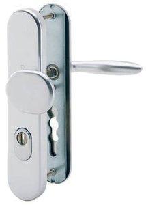 Hoppe veiligheidsbeslag PC85 SKG*** met kerntrekbeveiliging knop/kruk