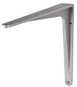 Plankdrager Herakles Aluminium Zilver 140x115 mm