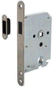 Intersteel Magneet Cilinder Dag en Nachtslot PC55 Met RVS Voorplaat 20X175 mm