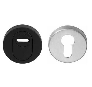 Veiligheid-Rozet Met Kerntrekbeveiliging Buiten Zwart/Binnen RVS