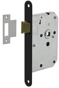 Intersteel Loopslot Met Zwart Gelakte Voorplaat 20X175 mm