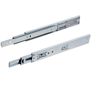 Paar ladegeleiders softclose volledig uittrekbaar 45 cm