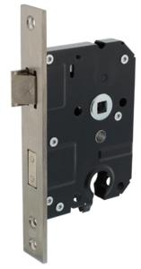 SKG** Veiligheidsslot PC55 mm met rechthoekige voorplaat  25 x 174 mm