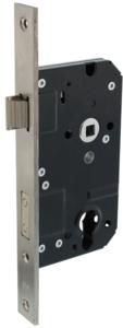 SKG** Veiligheidsslot PC72 met rechthoekige voorplaat 25 x 238 mm