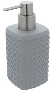 Differnz Wafel Zeepdispenser 165x70x70 mm Grijs