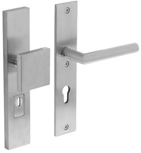Veiligheidsbeslag met kerntrek beveiliging greep/kruk SKG*** RVS PC72 Rechthoekig