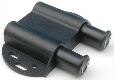 Automatische kastdeuropener Dubbel zwart met tegenschroef