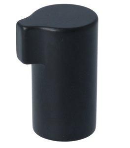 Knop Scope Mat Zwart 30 mm